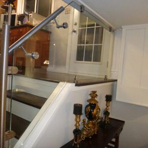Glass Stair Rails