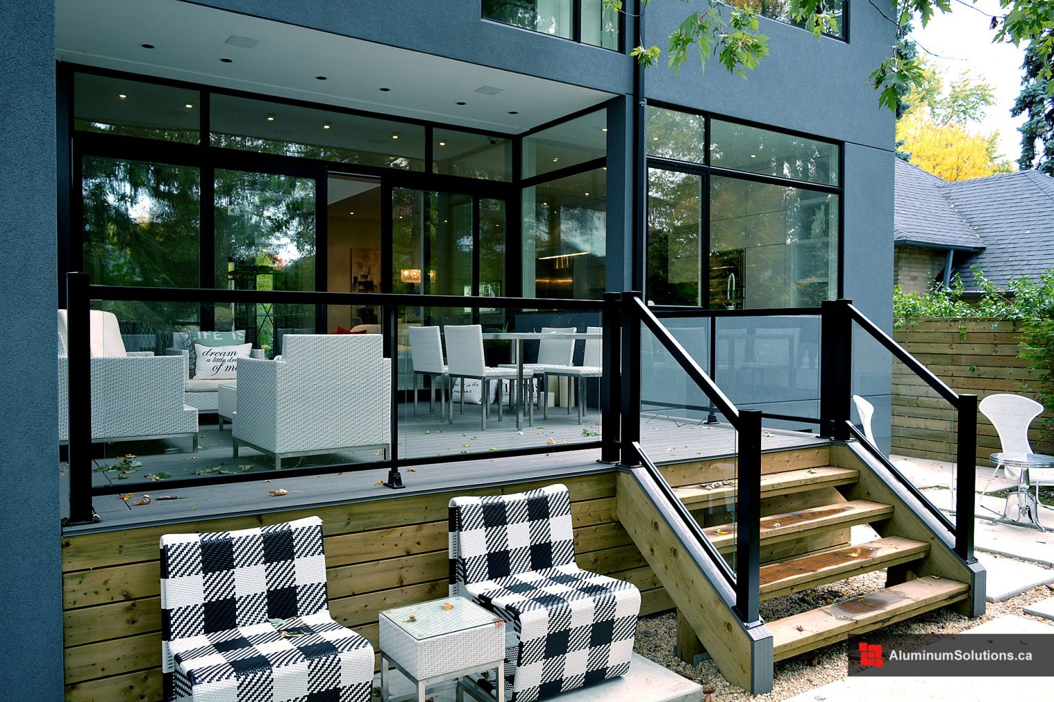 Aluminum Deck Railings