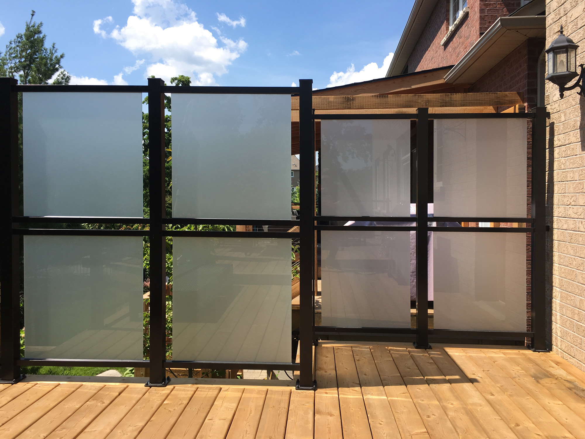Glass Privacy Dividers