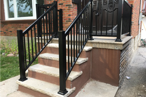 Aluminum Outdoor Railings