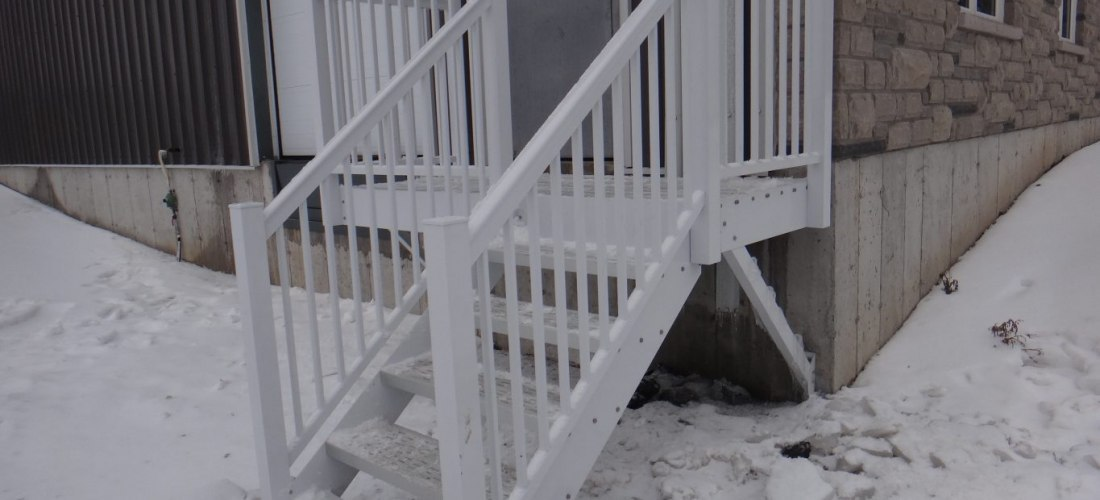 Warehouse Exit Staircase