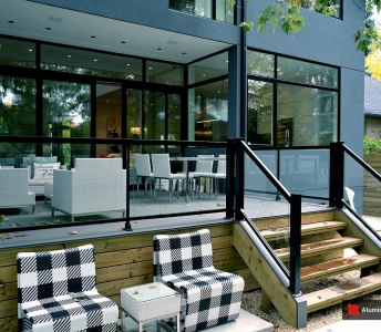 Glass House Project: Deck