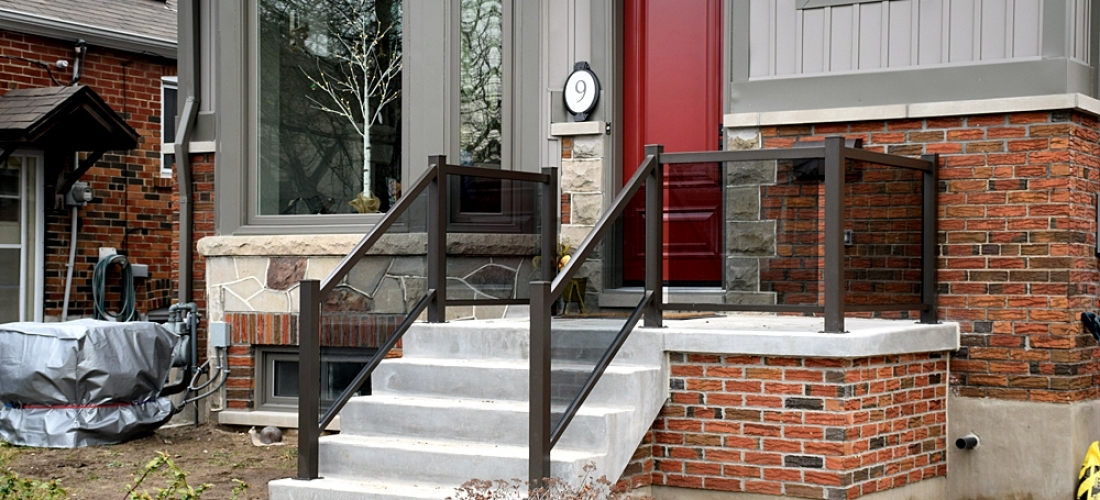 Blask Aluminum Railings For Residential House