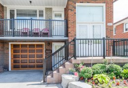 Wrought iron balcony and railings replacement in Mississauga