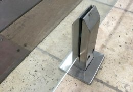 Spigots Frameless Glass Instalaltion