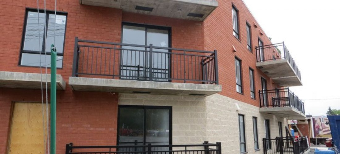 Aluminum Balconies for Rental Appartment