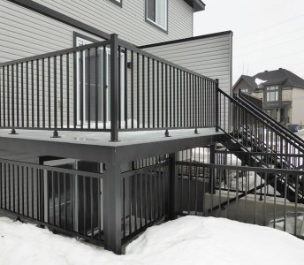 Aluminum Deck Railings & Fence