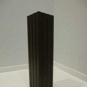 black column aluminum