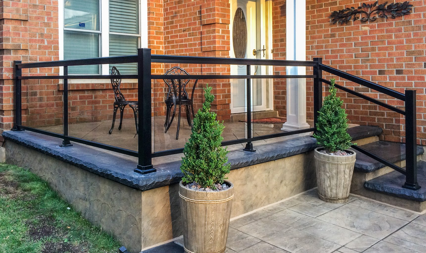 porch rail