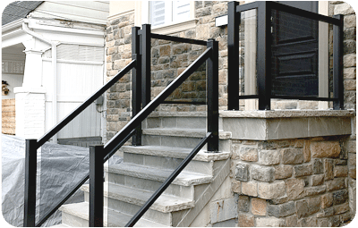 aluminum porch railings