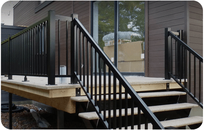 aluminum railings with pickets